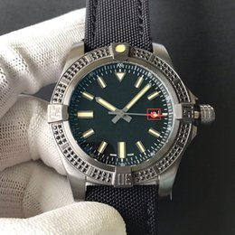 $enCountryForm.capitalKeyWord NZ - Luxury men's watch original titanium metal case with black diamond super light selling men's watch 44mm ETA2824 movement