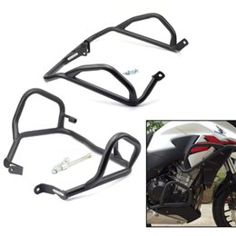 $enCountryForm.capitalKeyWord Canada - Fairing Cowl & Engine Crash Bar Protector For HONDA CB 500X CB500X CB400X 2013-2018 Motorcycle Accessories Front Extension Guard