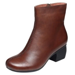 $enCountryForm.capitalKeyWord NZ - B6 new Spring chunky mesh ankle boots hollowed-out trend go with kitten heel boot and zippered gladiator booties
