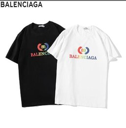 $enCountryForm.capitalKeyWord Australia - 8Balenciag 1flouis women's and Men's new short-sleeved t-shirts paired with stylish casual suits have become a big hit in Free Shipping 017