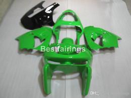 Kawasaki Zx9r 1998 Green Fairing Australia - High quality body parts fairing kit for Kawasaki Ninja ZX9R 98 99 green black ABS fairings set ZX9R 1998 1999 YW32