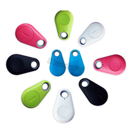 Cell phone finder alarm online shopping - iTag child tracer smart key finder bluetooth keyfinder tracer locator tags Anti lost alarm wallet pet dog tracker selfie for IOS Android