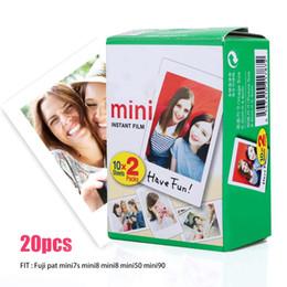 $enCountryForm.capitalKeyWord Australia - 20 Sheets Fujifilm Instax Mini 9 8 Film White Edge Photo Paper for Fuji Instant Photo Camera Mini 9 mini 8 7s 25 50 90