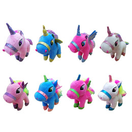 LoveLy games online shopping - Lovely Unicorn Plush Toys Inch High Quality Cartoon PP Cotton Plush doll Cute Doll Toys Soft Animals Stuffed Gifts For Kids
