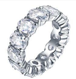 Beads finger ring online shopping - Hot seller s925 silver zircon ring ladies fashion trendsetter circular index finger ring