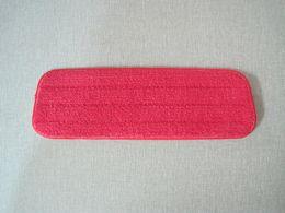 Flooring Accessories Australia - Fiber Spray Mop Head Floor cleaning cloth Paste The Mop Replace Cloth Household Cleaning Mops Accessories