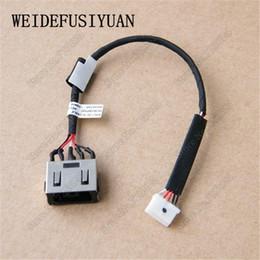 Wholesale Harness Connector Australia - Laptop DC Power Socket Connector Jack Harness Cable for LenovoThinkpad L450 L460 L470 DC30100P500