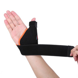 Sport hand wrap online shopping - AOLIKES pc Left Right Hand Sports Wrist Thumb Support Straps Wraps Bandage Adjustable Anti Spraine Wrist Protector Stabiliser