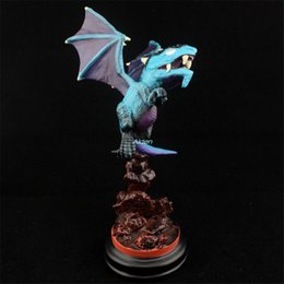 old resin Australia - Azshara Blue Dragon Legion Malygos Creative Statue Art Craft Exquisite Birthday Present Resin Action Collectible Model Toy 13CM BOX G442
