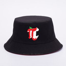 2020 protezioni di modo russo di Apple Pi Bucket Hat For Men Cappello donna pescatore nero Panama Outdoor Summer Sun Boonie