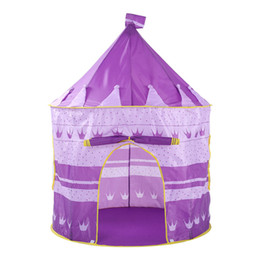 Chinese  Folding Children Kids Princess Playhouse Tent Tunnel Indoor Outdoor for Boys Girls Parent-Child Activities Tent Camping T6# manufacturers