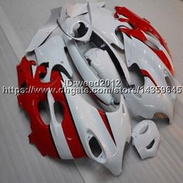 White Katana Australia - Botls+Custom red white motorcycle Fairing For Suzuki Katana GSX600F 2003 -2006 GSX750F 03 04 05 06 ABS Plastic motor Fairing