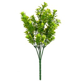 $enCountryForm.capitalKeyWord UK - flower green 1pcs 35cm Artificial Fake Flowers Green Milan Grass Plastic Simulation Plant Decorative Flowers for Home Decoration AFP1604