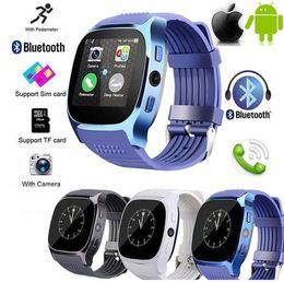Smart Watch Tracker Australia - Hot T8 Bluetooth Smart Watch Passometer Fitness Tracker Wearable SmartWatch Man Women Sports Smart bracelet Wrist Watch For IOS Andorid