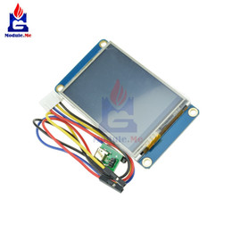 "Tft Lcd Touch Screen Module Australia - Freeshipping 2.4"" USART HMI TFT LCD Display Module For Raspberry Pi 2 A+ B+ for 320 x 240 Resistive Touch Screen HMI Serial"
