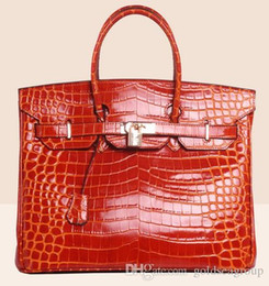 $enCountryForm.capitalKeyWord Australia - crocodile tote shoulder bags emboss ostrich wholesale women handbag tote lady purse IT DE France Togo genuine leather bag Paris US EUR