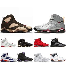 olympic football 2019 - Top Fashion Jumpman Reflective Bugs Bunny Patta X 7 Basketball Shoes Ray Allen Olympic 7s History of Flight Hare mens Ra