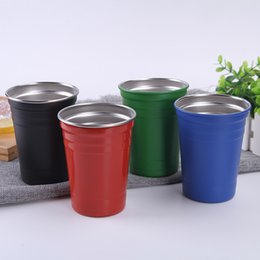 $enCountryForm.capitalKeyWord Australia - 500Ml Colorful Mugs Simplicity Beer Cup Monolayer Curling Popular Coffee Tumbler Pillar Shape Superior Quality Hot Selling 8 9bl J1