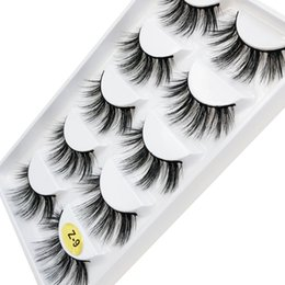z flash UK - Flash girl Z-09 newest quality mink eyelashes customize private label 100% Handmade mink eyelashes free shipping