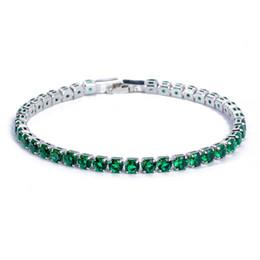 $enCountryForm.capitalKeyWord UK - Austrian water diamond Bracelets & Bangles Hot Sale Silver Bracelet Fashion Cubic Zircon luxury Design Jewelry For Women