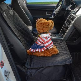 $enCountryForm.capitalKeyWord Australia - Waterproof Pet Car carrier Seat Cover Carrying Bags Dog Cat Puppy Seat Mat Blanket Washable Universal Front Protector