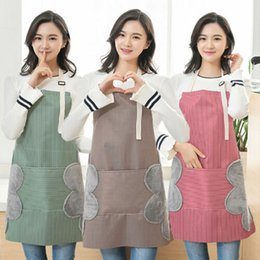 $enCountryForm.capitalKeyWord NZ - Men Women Cooking Kitchen Restaurant Chef Bib Apron Classic Dress with Pocket Aprons