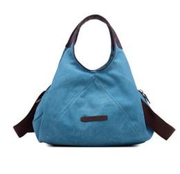 $enCountryForm.capitalKeyWord UK - Ladies Hand Bags Casual Canvas Women Bags Handbag Messenger Shoulder Bag Women Female Bags Handbag Bolsa Feminina Bolsos Mujer