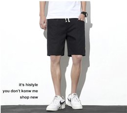 mens sporting apparel Canada - Summer Patchwork Mens Designer Short Pants Workwear Teenager Loose Sports Knee Length Clothing Casual Running Relaxed Apparel