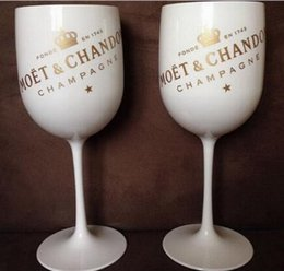 red plastic wine glasses Australia - Plastic wine PARTY White champagne glass MOET wine moet Glass one piece