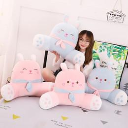 $enCountryForm.capitalKeyWord Australia - 60*45cm Kawaii Baby Pillow Blanket 2 In 1 Car Cartoon Plush Stuffed Animals Soft Cute Children Gifts Travel Accessories
