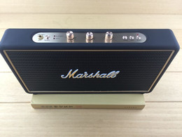 Discount computer phone case high quality Marshall stock well Bluetooth wireless speakers Portable Audio Player with leather case outdoor Portable Sp