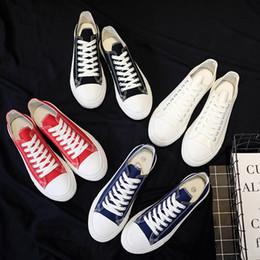 $enCountryForm.capitalKeyWord NZ - High School Board Shoes Flats Men Skate Sneakers Fashion Male Brand Plimsolls Ulzzang Teen Rugged Casual Canvas Shoes