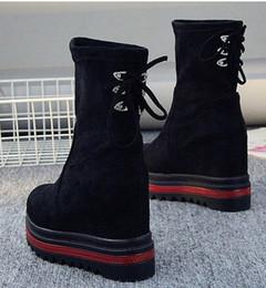 $enCountryForm.capitalKeyWord Australia - New Arrival Hot Sale Specials Super Fashion Cowgirl Nightclub Martin Winter Suede College Wind Black Increased Casual Ankle Boots EU33-42