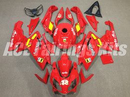 Rs 125 Abs Fairing Kit Australia - New Injection ABS motorcycle bike Full fairing kits for aprillia RS125 2006-2011 Fairings RS 125 06 07 08 09 10 11 RS4 bodywork red 48
