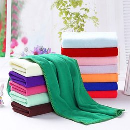 Wholesale 15Pcs Microfiber Car Wash Towel Cleaning Cloth Car Waxing Polishing Drying Detailing Car Care Kitchen Housework Ultra Soft Towel cm