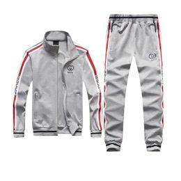 $enCountryForm.capitalKeyWord UK - Sportsuit Men Tracksuit Sweat Suit Casual Solid Hoodies Sweatshirt Mens Set Jogger Suits Hip Hop Hoodie Clothing Sets