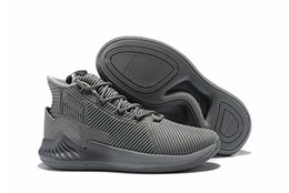 official photos 16bf3 4c2c6 Meilleur Chaussures De Basketball D Rose 9 Cool Grey Derrick Rose 9 Shock  Rose Blanc Noir Or Rouge Baskets Baskets