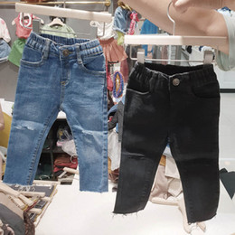 $enCountryForm.capitalKeyWord Australia - New Autumn Kids Jeans hole girls jeans fashion kids designer clothes girls skinny jeans kids trousers girls clothes children clothing A6598