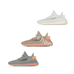 $enCountryForm.capitalKeyWord Australia - Bubble Wrap Hyperspace V2 Running Shoes Clay True Form Zebra Orange Gray Men Women Designer Shoes Kanye West Sport Sneakers 5-13