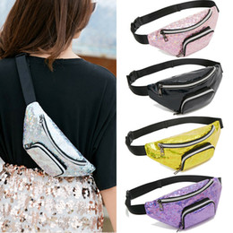 Girls small pink purses online shopping - Brand New Ladies Cool Pockets Women Girls Waist Fanny Pack Belt Bag Fashion Pouch Hip Bum Bag Travel Sport Small Purse Color