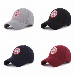 ebcacd39567 Fashion Canada Warm Baseball Caps Classic Unisex Head Wear Accessory Suede  Peak Blend Hat Suede Peak Cap Ourdoor Travel Hat TTA815
