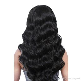 wave nets Australia - Beautiful Princess Hair Brazilian Body Wave Hair Bundles Double Weft Remy Hair Weave Bundles+wig Net