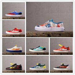 $enCountryForm.capitalKeyWord Australia - 2019 New Revenge x Storm Footwear Servlces Co Casual Canvas shoes for Top quality Chaussures Men Women Low help Sports Sneakers Size 35-44