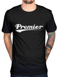 drum percussion instrument 2019 - Official Premier Drums Logo NEW Men's T-Shirt Percussion Musical instruments cheap drum percussion instrument