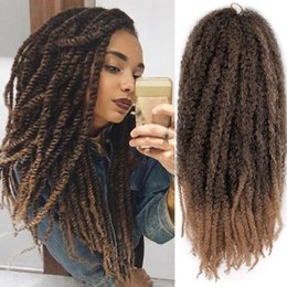 18inch wig 2019 - 18inch Women Wig Big Wave Artificial Dreadlocks Hairdressing Salon Fluffy Realistic Decoration For African Synthetic Hai