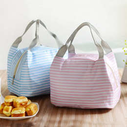 Brief Bags Australia - Fashion Portable Insulated Oxford Cloth Lunch Bag Thermal Food Picnic Lunch Bags For Women Kids Men Print Lunch Box Bag Tote C19041601