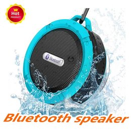 quality player Australia - C6 Speaker Bluetooth Speaker Wireless Potable Audio Player Waterproof Speaker Hook And Suction Cup Stereo Music Player High Quality