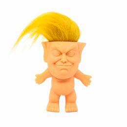 $enCountryForm.capitalKeyWord Australia - 2020 Donald Trump Doll USA President Donald Trump Dolls Hair Doll Funny Novelty Gag Gift Prank Joke toy