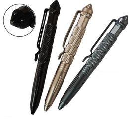 Self defenSe multifunctional online shopping - Aircraft Aluminum Defender Tactical Pen for Self defense Glass Breaker Multifunctional Survial Tool Aviation aluminum metal survival pens