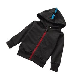 spring jackets for boys NZ - Spring Autumn Casual Outdoor Windbreak Jackets For Boys Jackets Kids Clothes Hooded Baby Boys Jackets Sport New